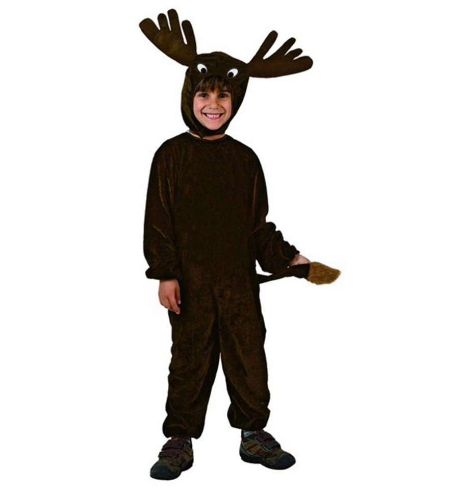 Disfraz de Reno Negro Infantil confetifiestascom