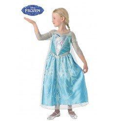 Disfraz de Elsa de Frozen Premium para Niña