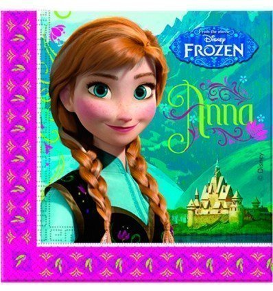 Pack 20 Servilletas Frozen