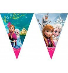 Banderas Triángulo de Frozen