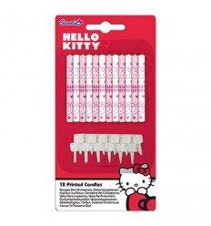 12 VELAS HELLO KITTY