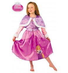Disfraz de Rapunzel Winter para Niña