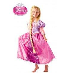 Disfraz de Rapunzel Deluxe para Niñas