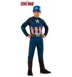 Disfraz de Capitán América Classic para niño
