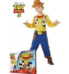 Disfraz de Woody de Toy Story en Caja Regalo