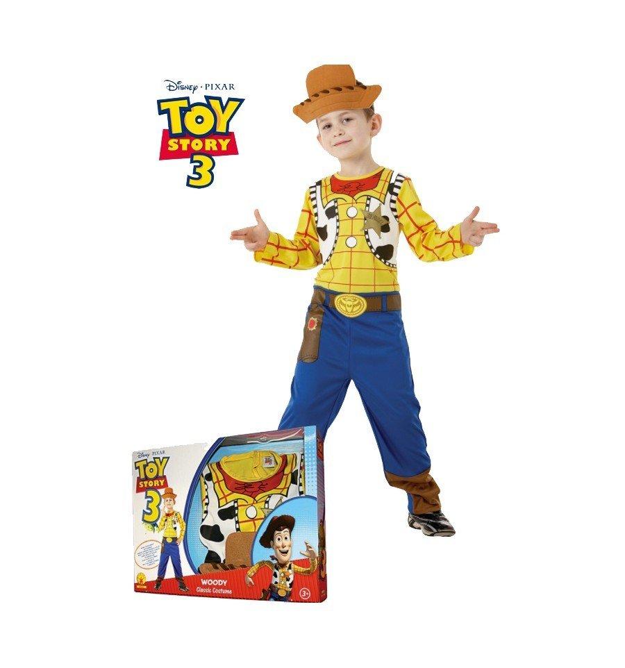 00765333fd57f Disfraz de Woody de Toy Story en Caja Regalo - www.confetifiestas.com