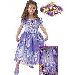 Disfraz de Princesa Sofia Deluxe en Caja