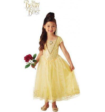 Disfraz de Bella Deluxe de Bella y La Bestia para niña