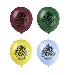 Bolsa 8 Globos Harry Potter Colores Surtidos