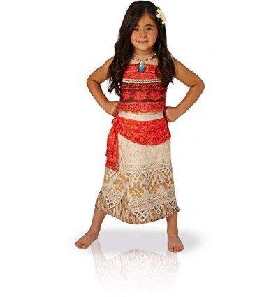 Disfraz de Vaiana Deluxe Infantil