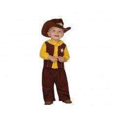 Disfraz de Vaquero bebé