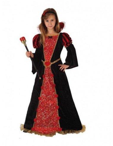 Disfraz de Reina de Corazones Infantil