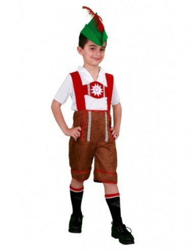 Disfraz de Tirolés Infantil