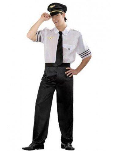 Disfraz de Piloto de Vuelo Adulto