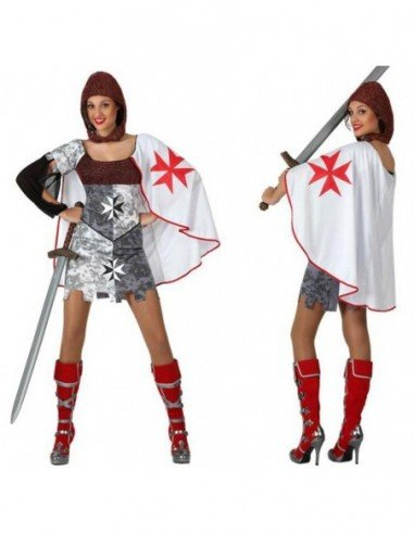Disfraz de Guerrera Medieval Adulta
