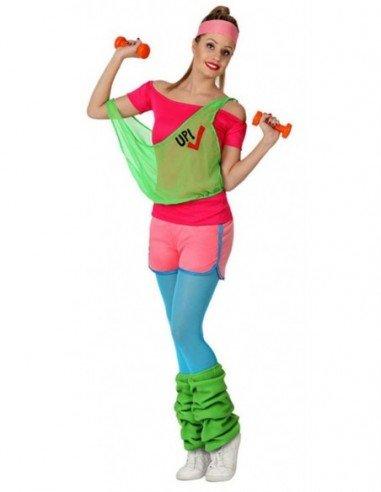 Disfraz de Chica de Gimnasio Adulta