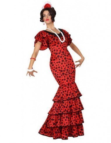 Disfraz de Flamenca Adulta