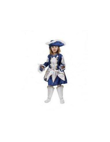 Disfraz de Majorette Azul Infantil