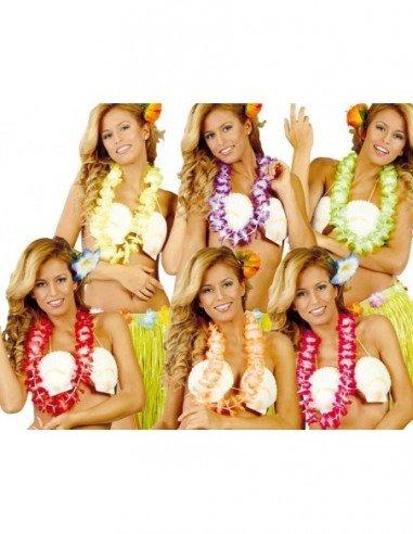 Collar Hawaiano de Colores Surtidos...