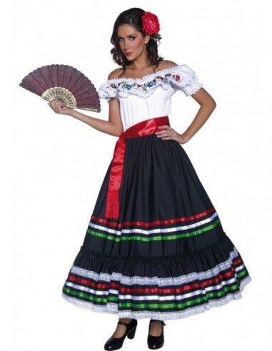 Disfraz de Mejicana Adulta
