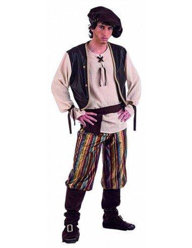 Disfraz de Tabernero Medieval Adulto