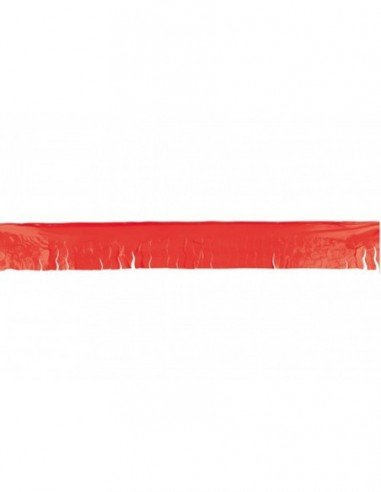 Flecos de Plástico Rojo 25 Metros