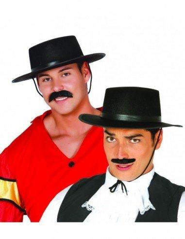 Sombrero de Cordobés Negro de Fieltro