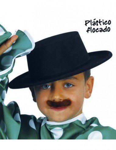 Sombrero de Cordobés Negro Flocado...
