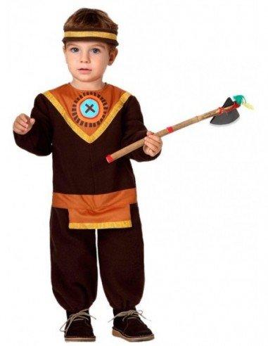 Disfraz de Indio Marrón Bebé