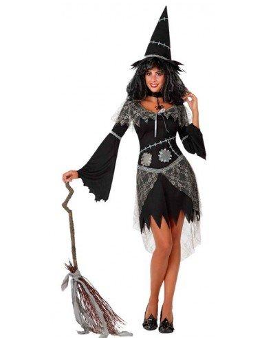 Disfraz de Bruja Negra Adulta