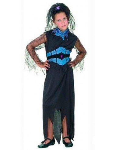 Disfraz de Viuda Negra Infantil