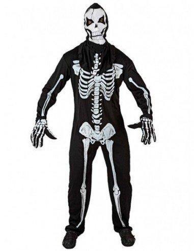 Disfraz de Esqueleto Viviente Adulto