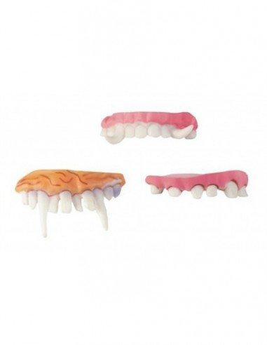 Dentadura de Látex 3 Modelos Surtidos