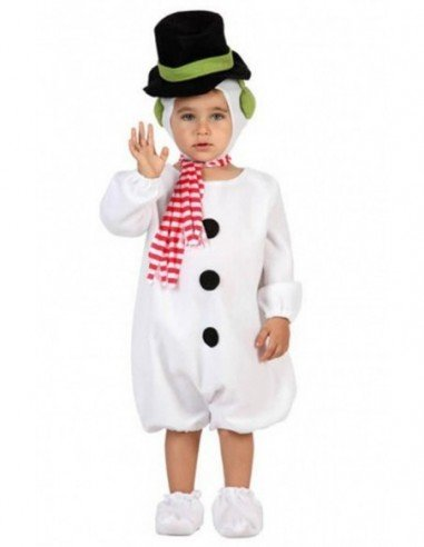 Disfraz de Muñeco de Nieve Bebé