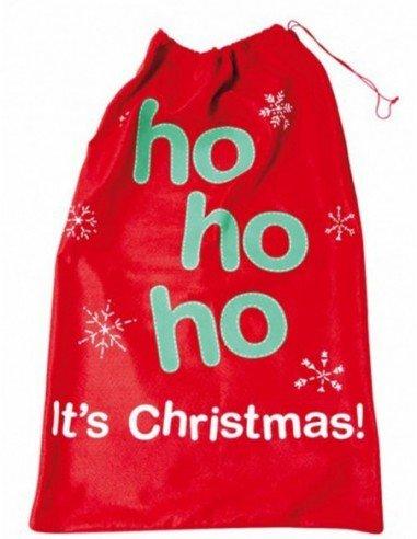 Saco de Regalos de Papá Noel 50 x 80 cm