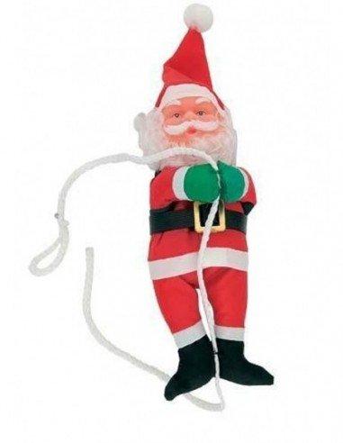 Papá Noel 60 cm con Cuerda para Colgar