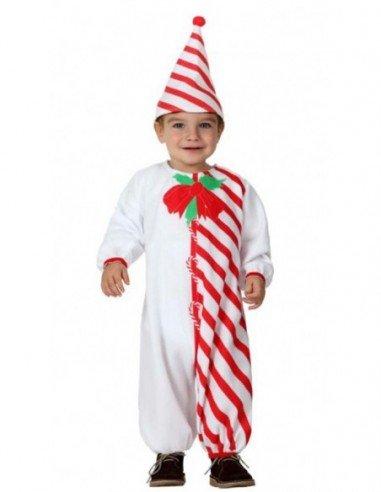 Disfraz de Bastón de Caramelo Bebé