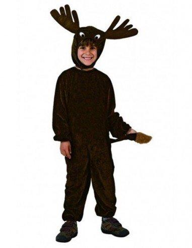 Disfraz de Reno Negro Infantil