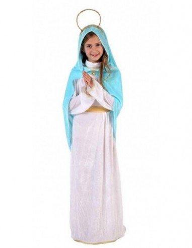 Disfraz de Virgen María para Niña