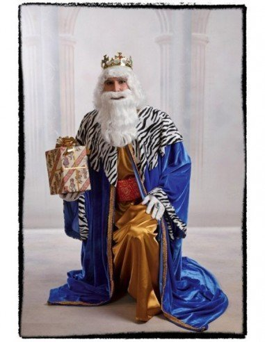 Disfraz de Rey Melchor Lujo Adulto