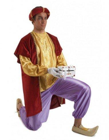Disfraz de Paje Rey Baltasar Adulto
