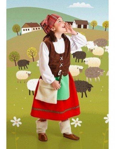 Disfraz de Niña Pastora