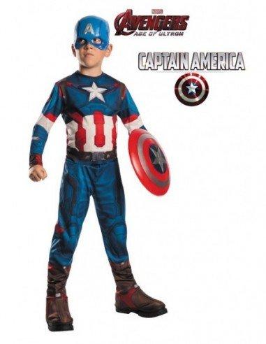 Disfraz de Capitán América de Los...