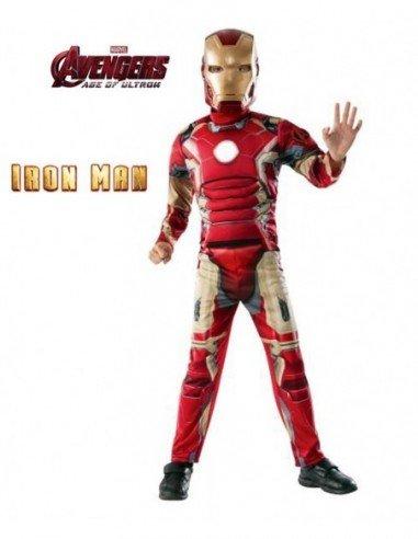 Disfraz de Iron Man Deluxe de Los...