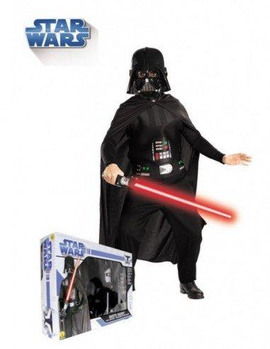 Disfraz de Darth Vader con Espada en...