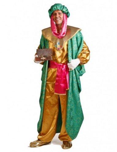 Disfraz de Rey Baltasar Lujo Adulto