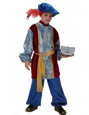 Disfraz de Paje del Rey Gaspar para Niño