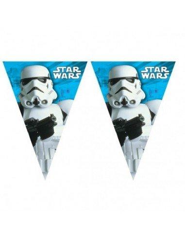 Banderines Star Wars Plástico 2,3 m