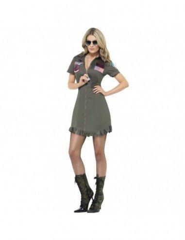 Disfraz de Chica Top Gun