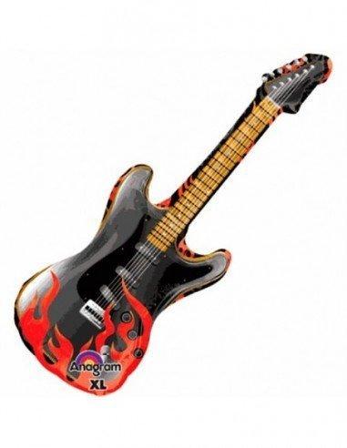 Globo con forma de guitarra (35 cm x 99)